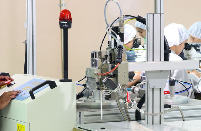 Auto Epoxy Dispensing System for RFID Tags Manufacturing