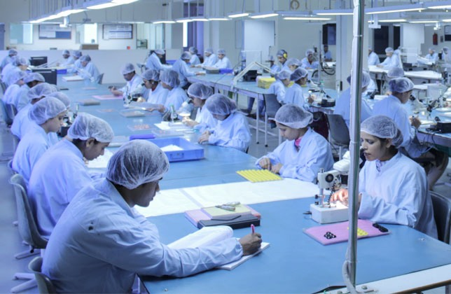 Clean Room Manufacturing for RFID Tags and Products